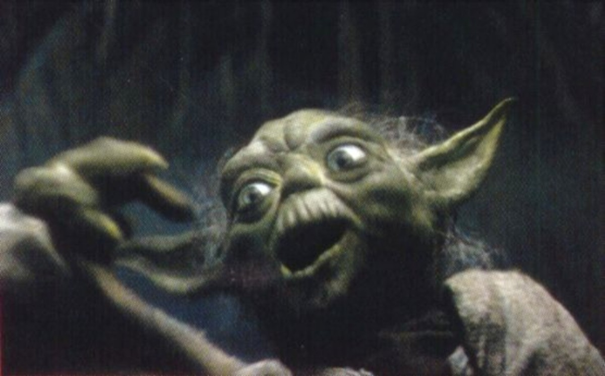 Yoda's gonna have to lie down for a couple minutes.