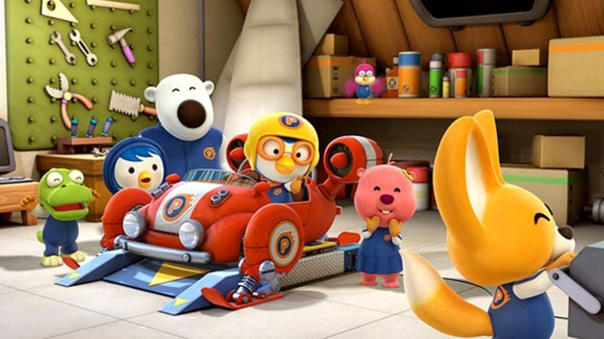 Pororo the Little Penguin is a South Korean-produced animated show popular overseas.