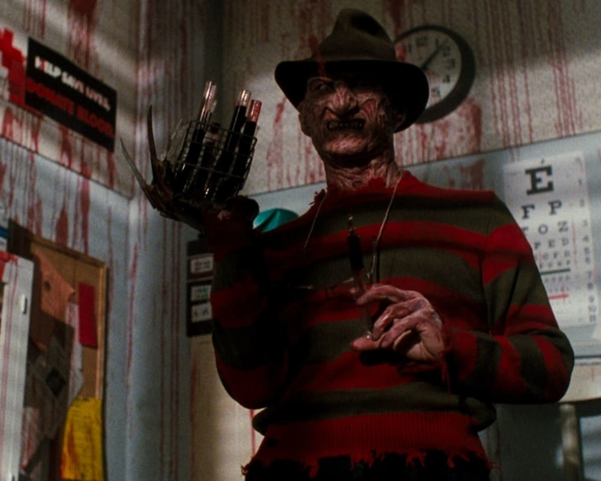Freddy Krueger will haunt your dreams...forever.