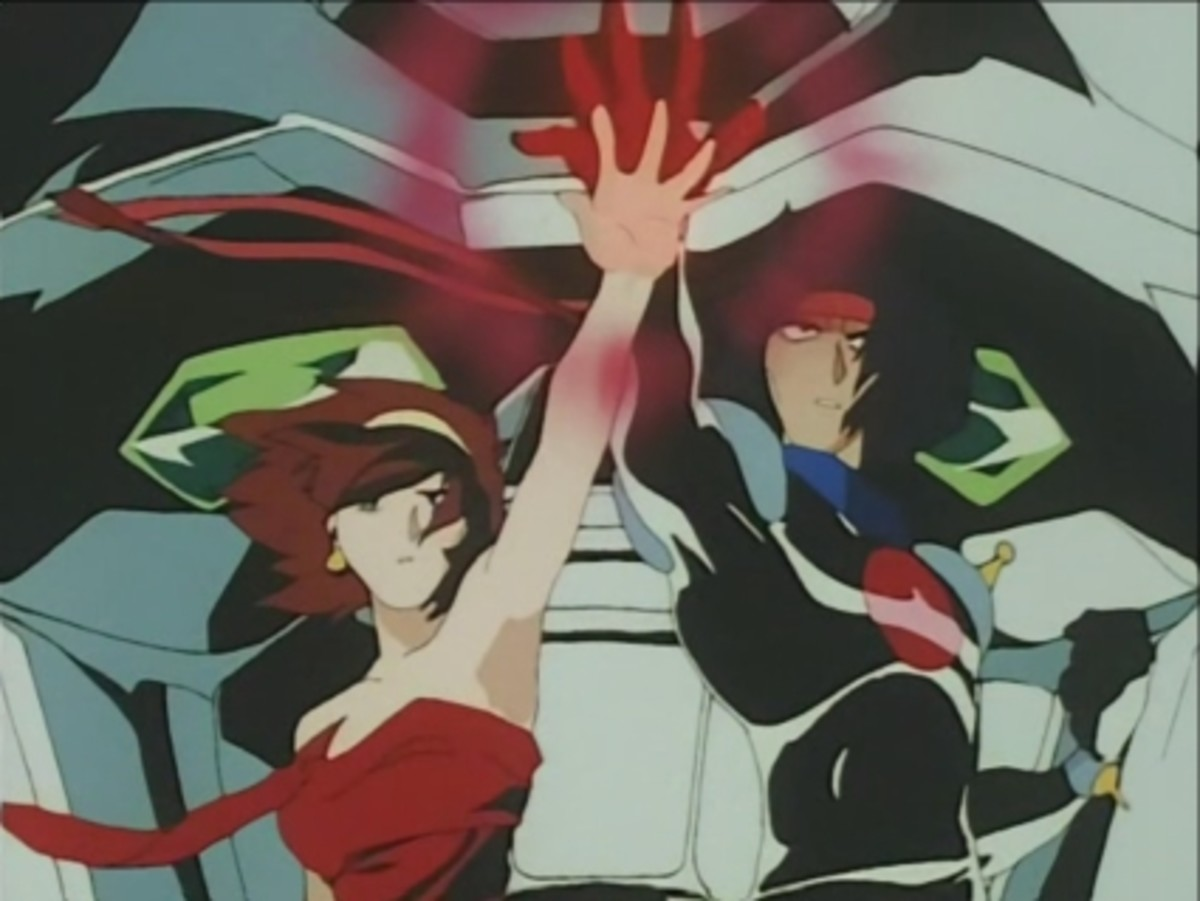 Domon and rain g gundam sex