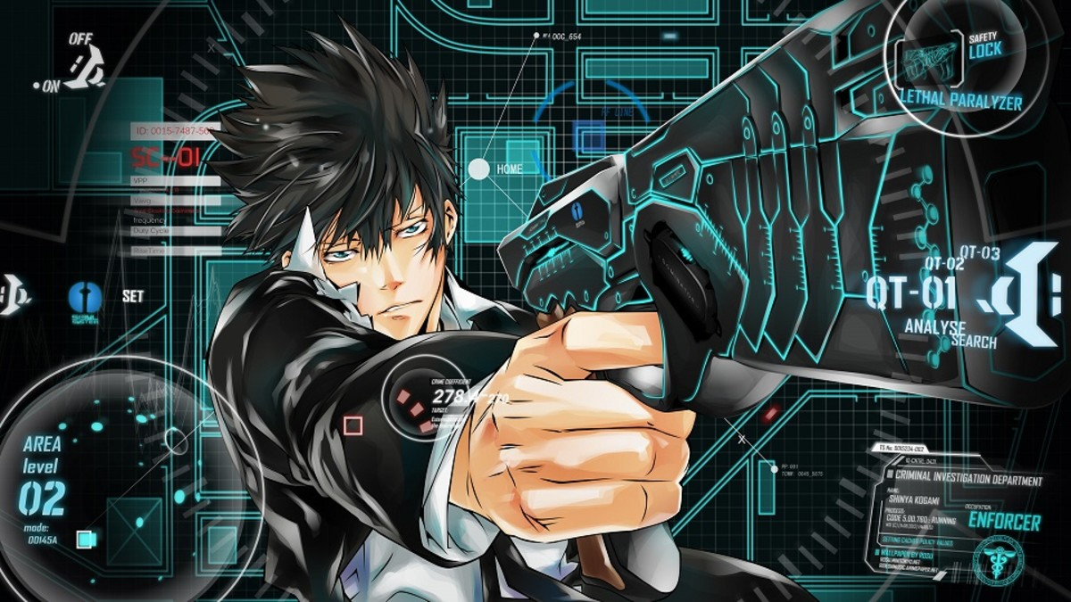Psycho-Pass is a cyberpunk series written by Gen Urobuchi. It has been compared to the film Minority Report.