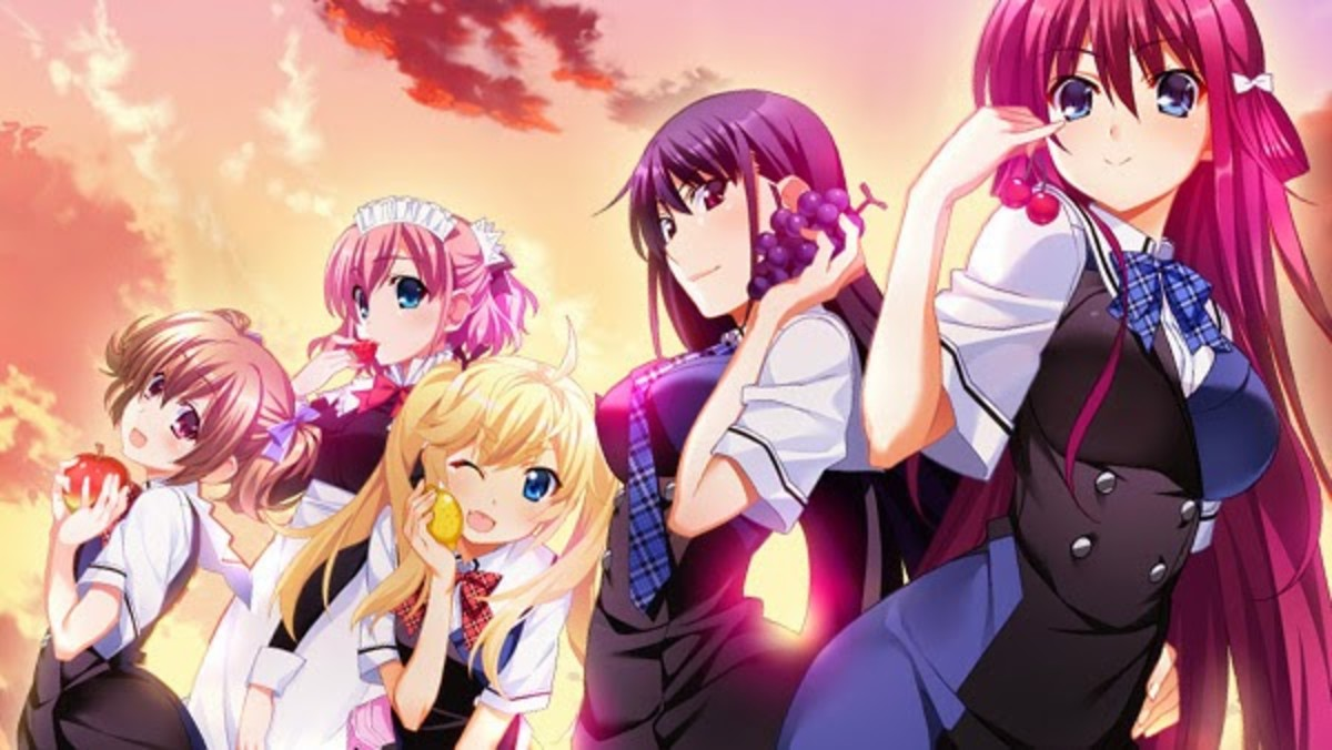 Grisaia no Kajitsu is adapted from a visual novel game.