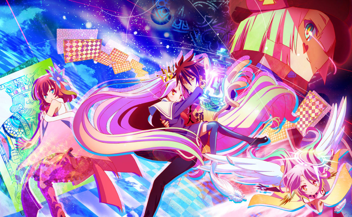 No Game No Life features a world where games settle everything.