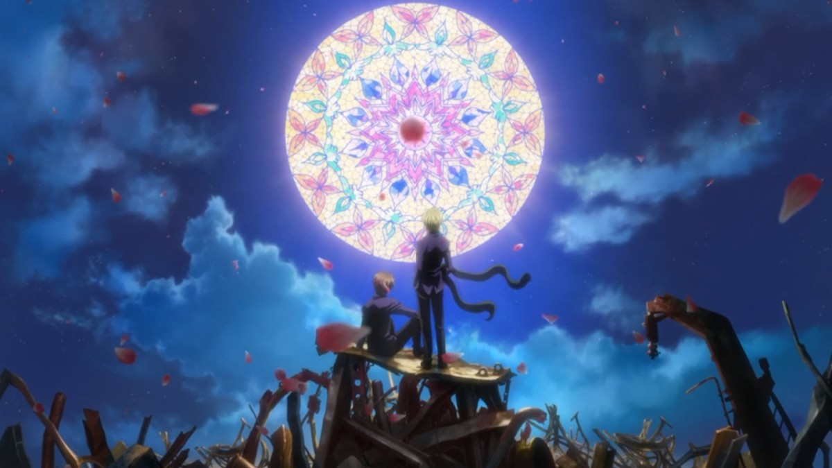 Zetsuen no Tempest has a lot of references to Shakespeare, most notably to Hamlet and The Tempest.