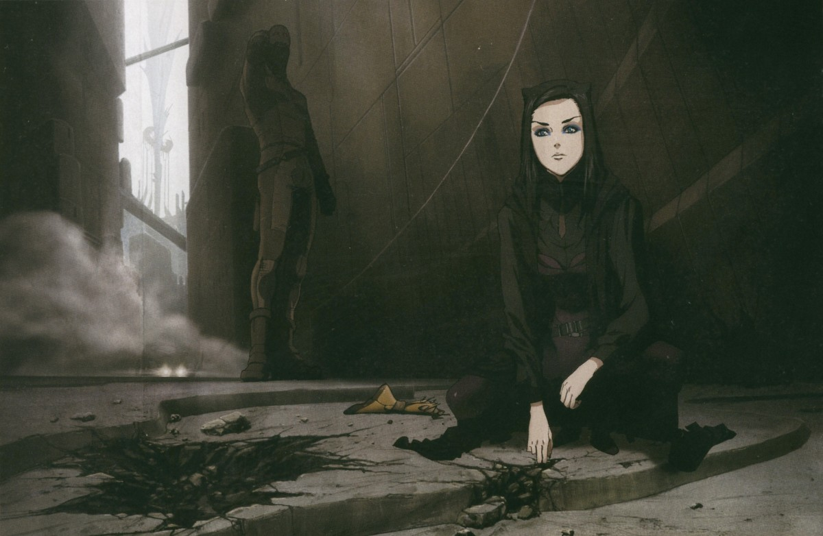 Ergo Proxy features elements of cyberpunk and film noir.