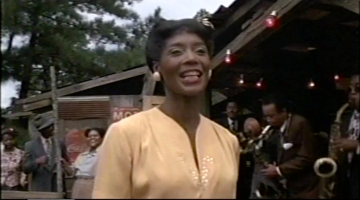 "In a scene near the end of The Color Purple we see Shug performing in a ""juke joint"" owned by Harpo, the oldest son of Albert aka ""Mister."""