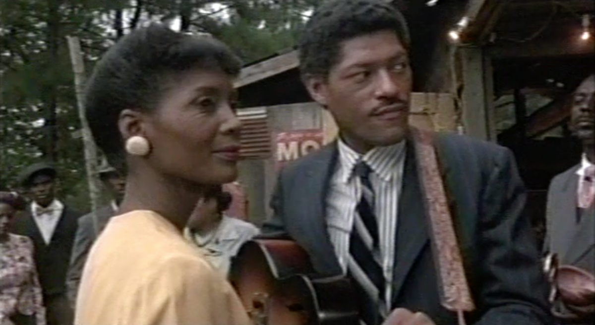 Shug has to stop singing when she hears an anointed song coming from her father's nearby church.