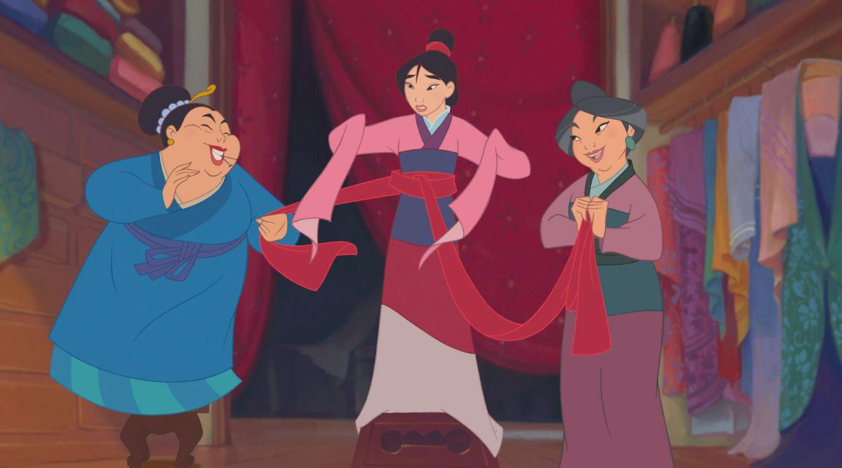 Mulan's hanfu
