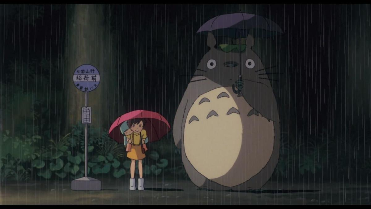The lovely sight of the memorable character of Studio Ghibli, Totoro.