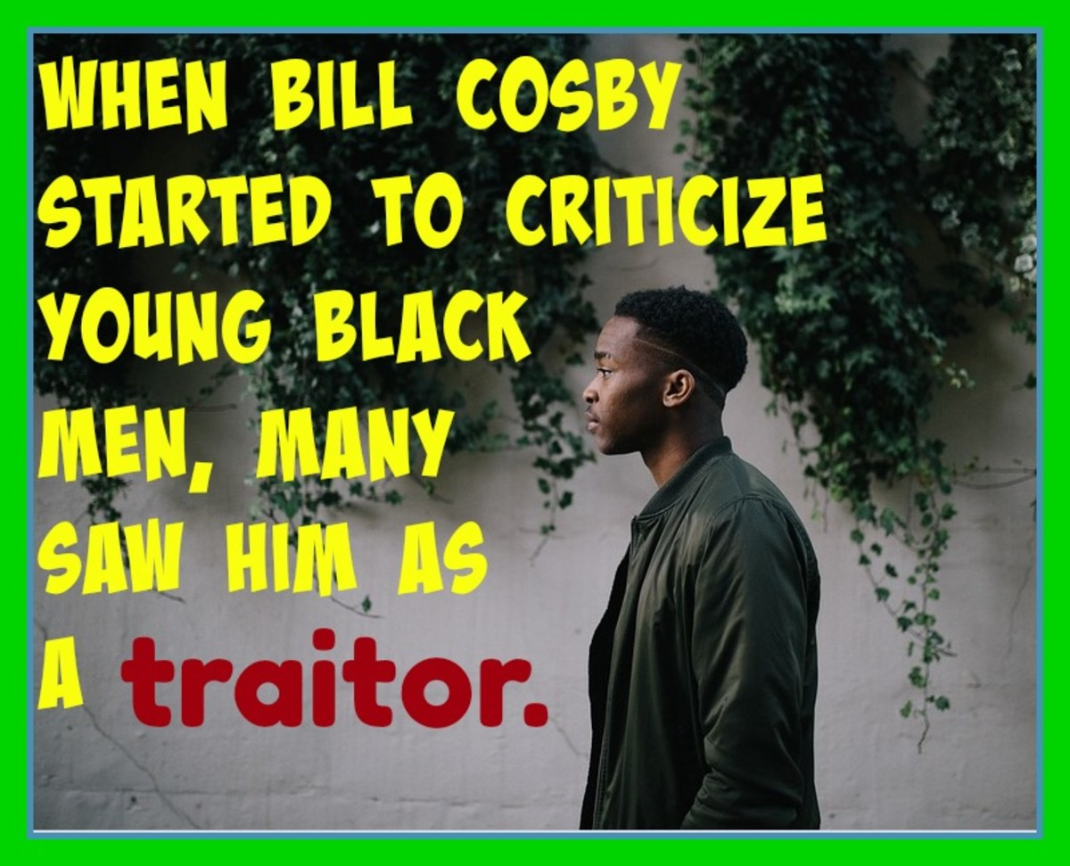 While still popular with white fans, Bill Cosby lost support among blacks during the early 2000's when he started to criticize young black men.