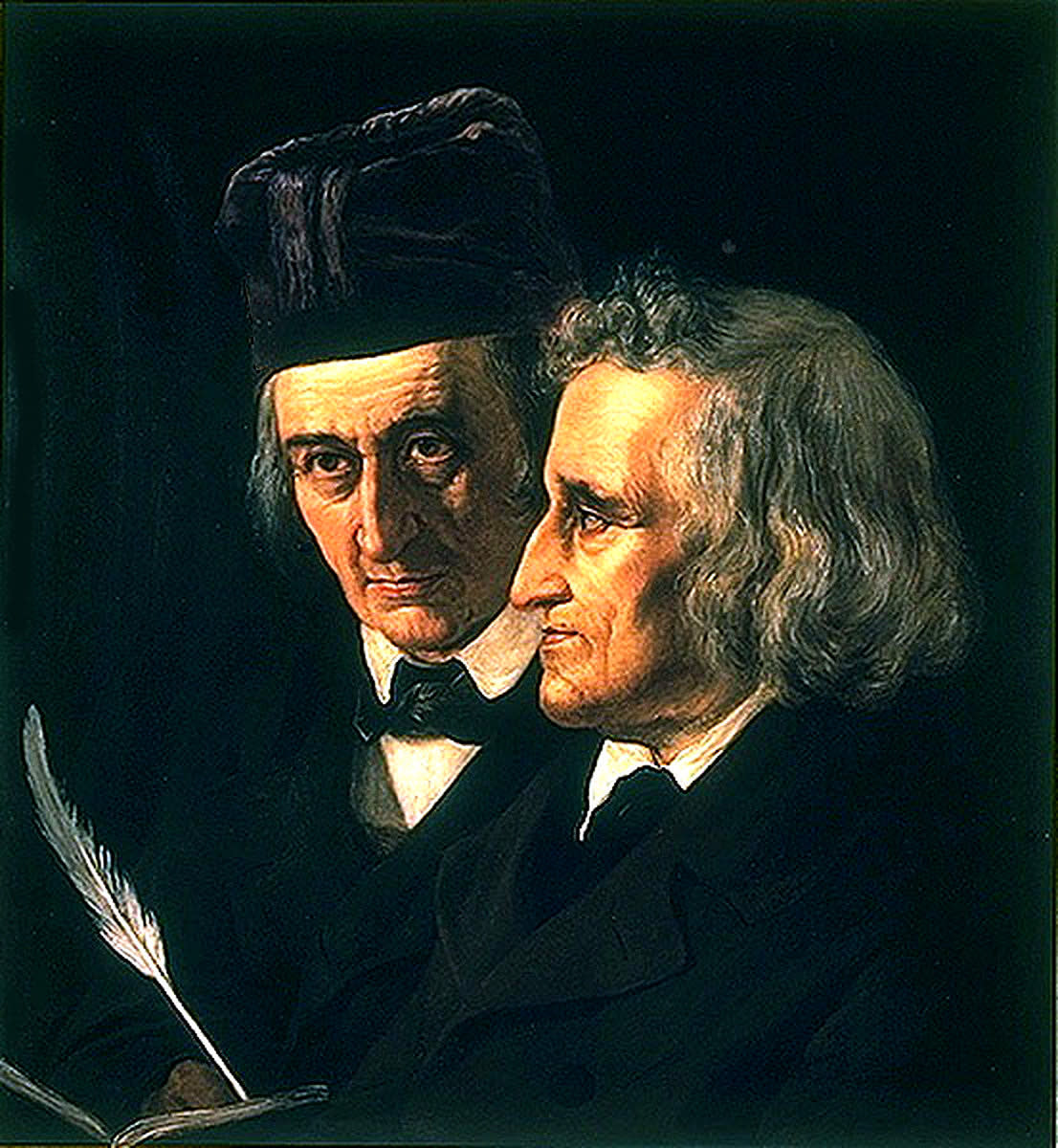A Painting of the Brothers Grimm
