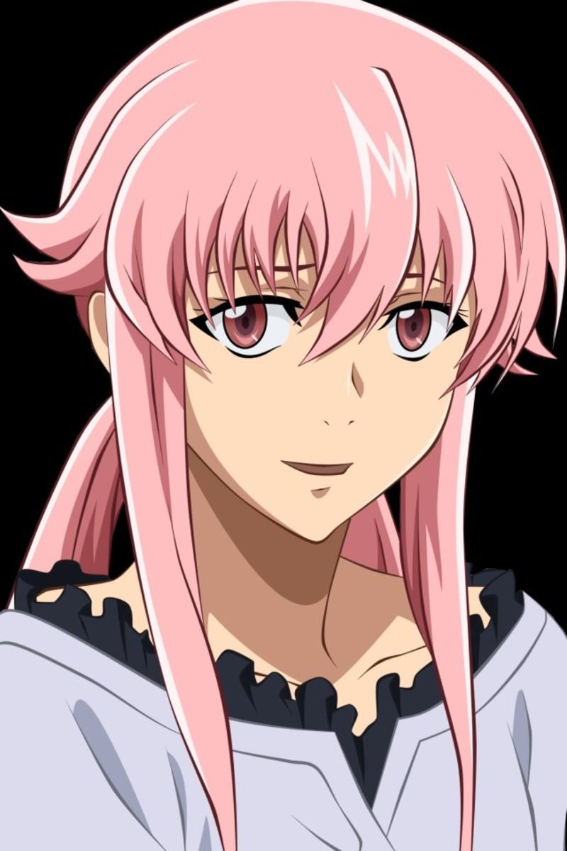 Gasai Yuno from Mirai Nikki