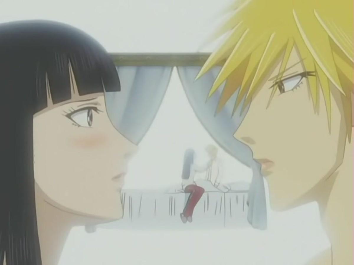 Sunako Nakahara and Kyohei Takano
