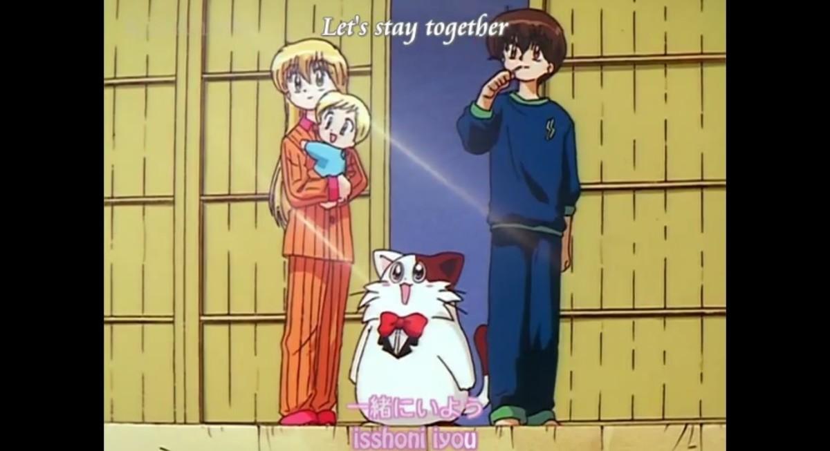 Miyu, Ruu, Wanya and Kanata
