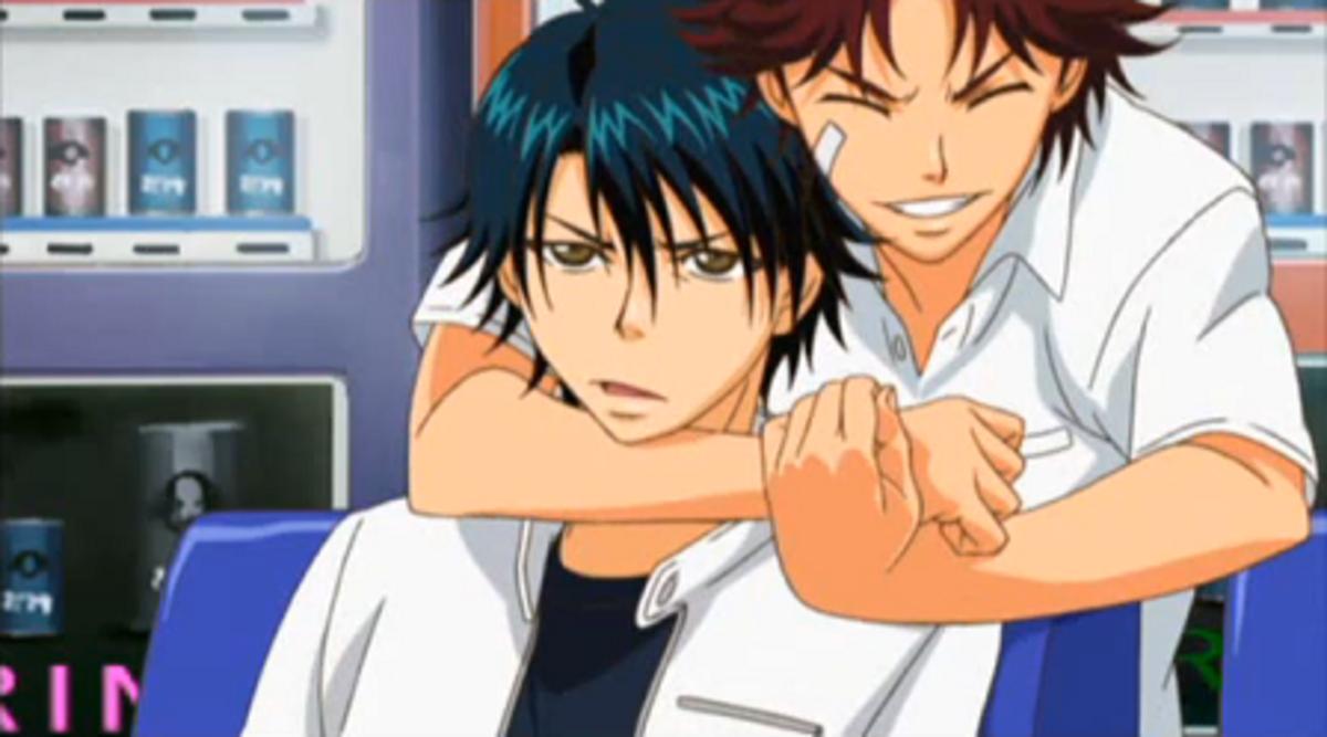Ryoma and Eiji