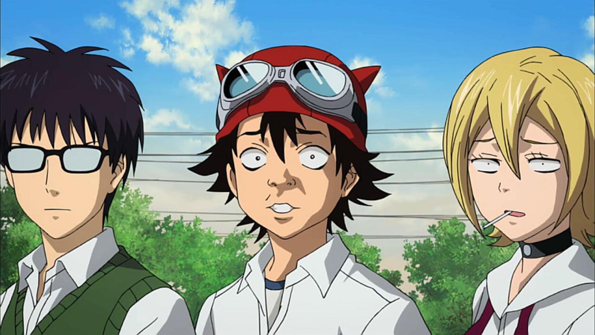 Switch, Bossun and Himeko