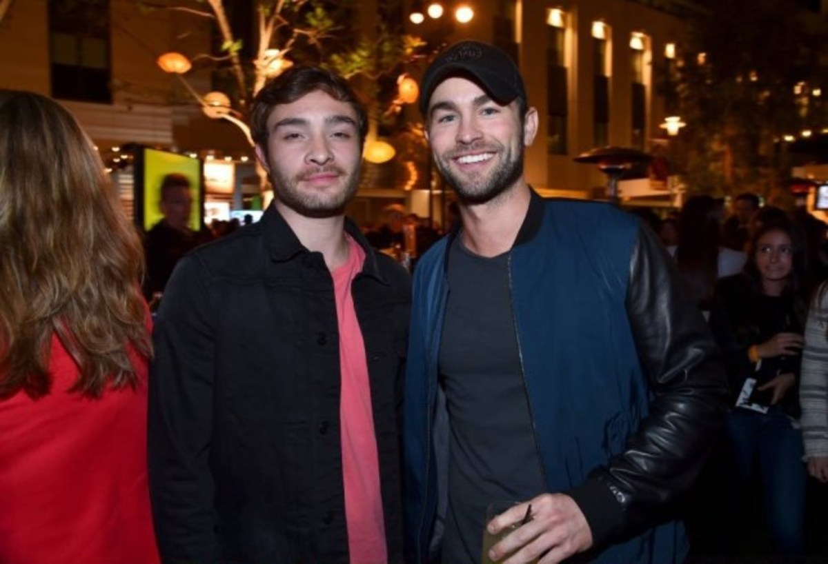 Ed Westwick and Chace Crawford