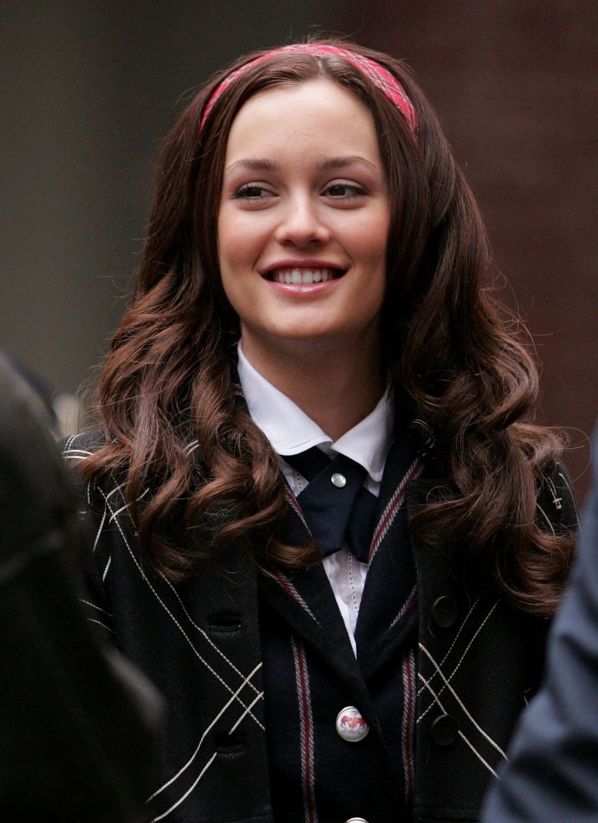 Leighton Meester during Gossip Girl