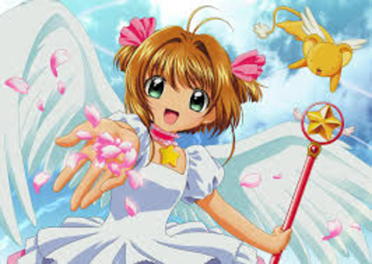 "This is ""Cardcaptor Sakura"", an anime that made it onto American TV when I was a child."