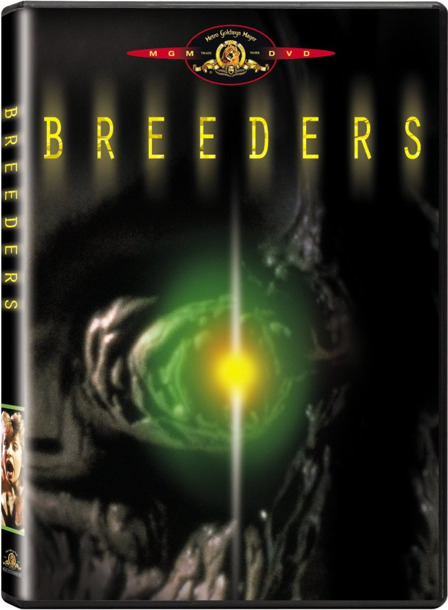 "When MGM released ""Breeders"" on DVD in 2001 the cover art got a much needed upgrade."