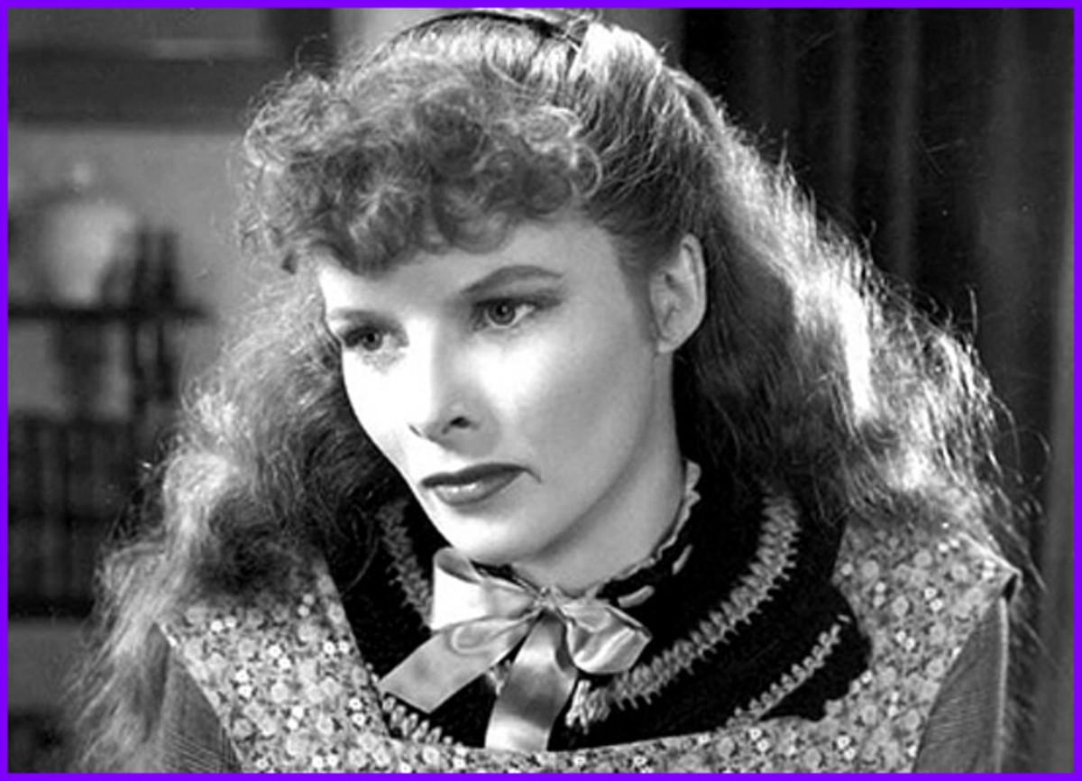 Katharine Hepburn -- another Scarlett wannabe!