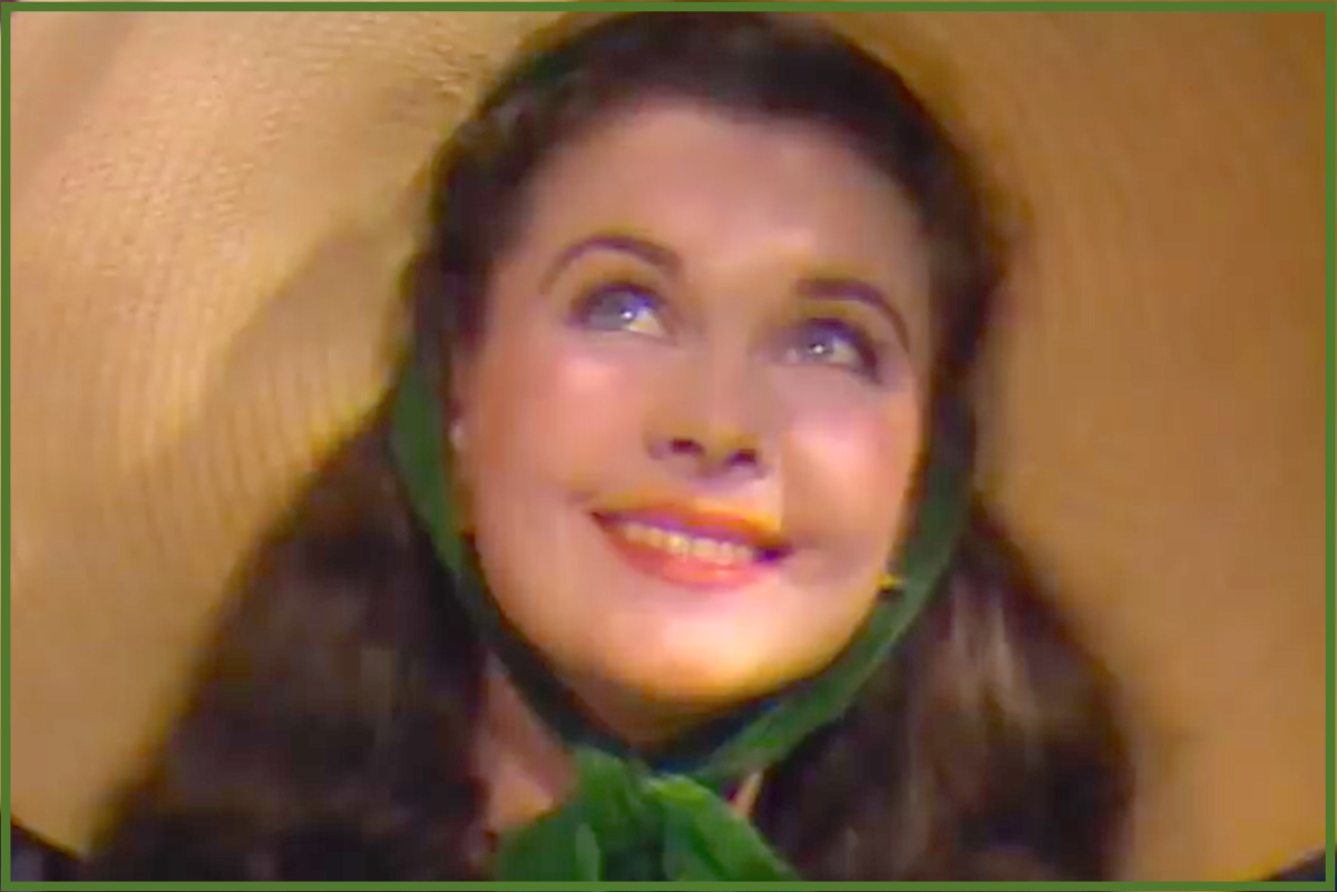 When the exhaustive search for Scarlett O'Hara was over, British actress Vivien Leigh won the role.