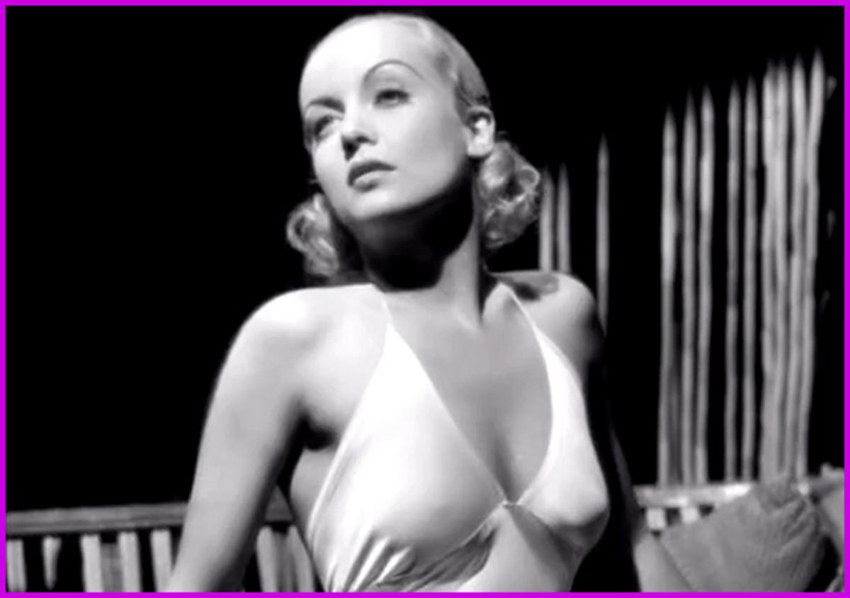 Carole Lombard -- Clark Gable's true love.