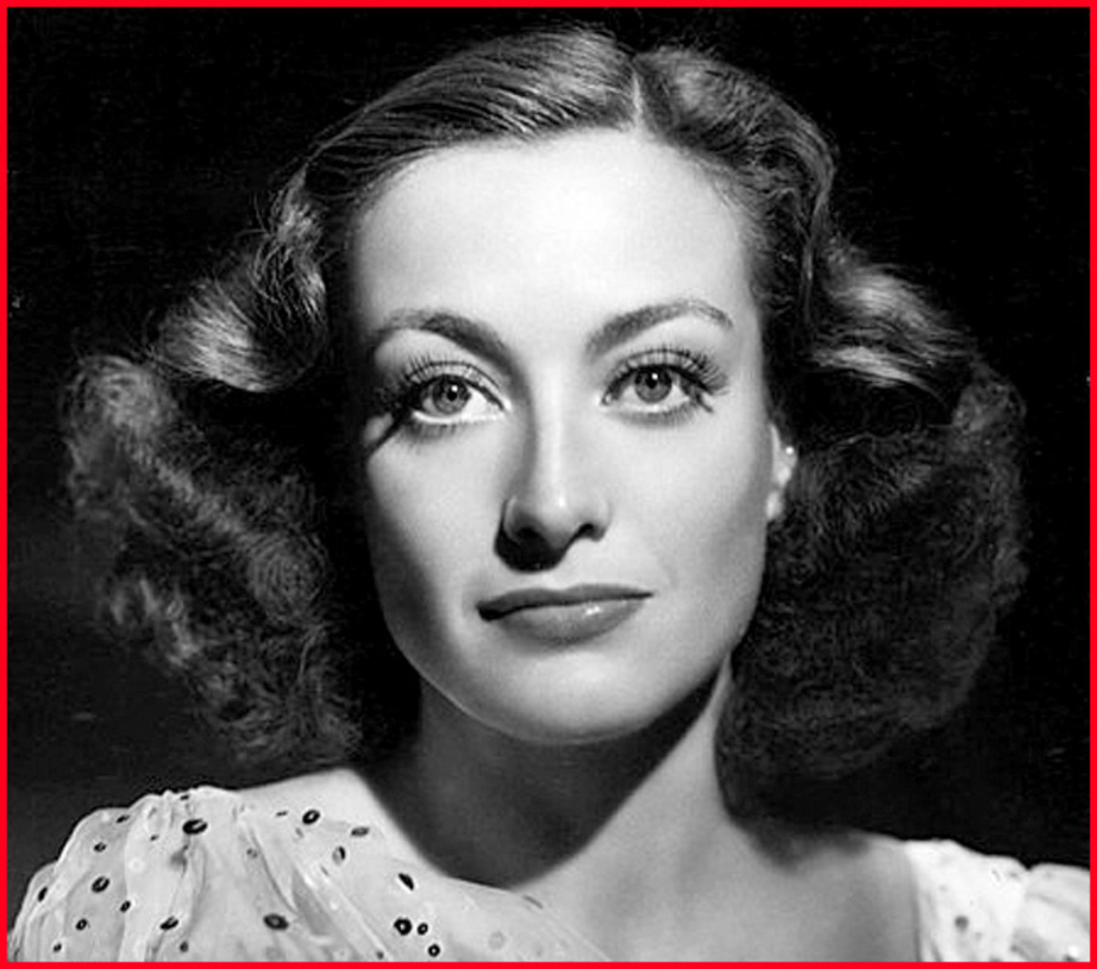 Joan Crawford - one of Clark Gable's off-screen lovers!