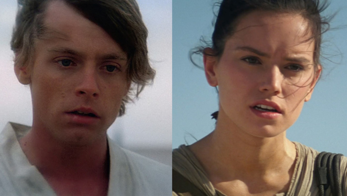 Luke and Rey, father and daughter?