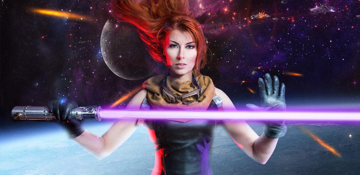 Mara Jade, Luke Skywalker's now non-canon wife