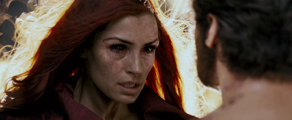 The Phoenix, played by Famke Janssen.