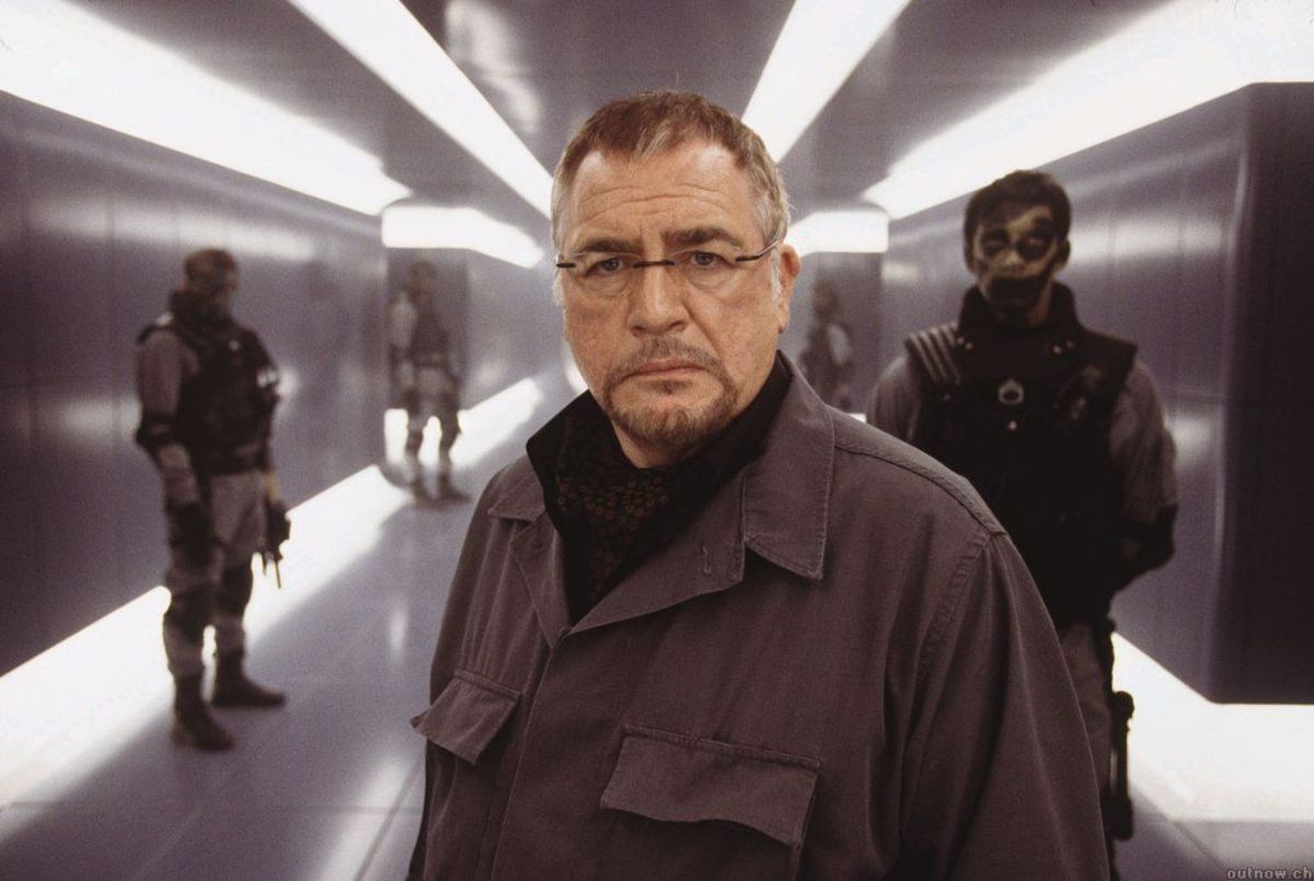 Stryker in X2, played by Brian Cox.