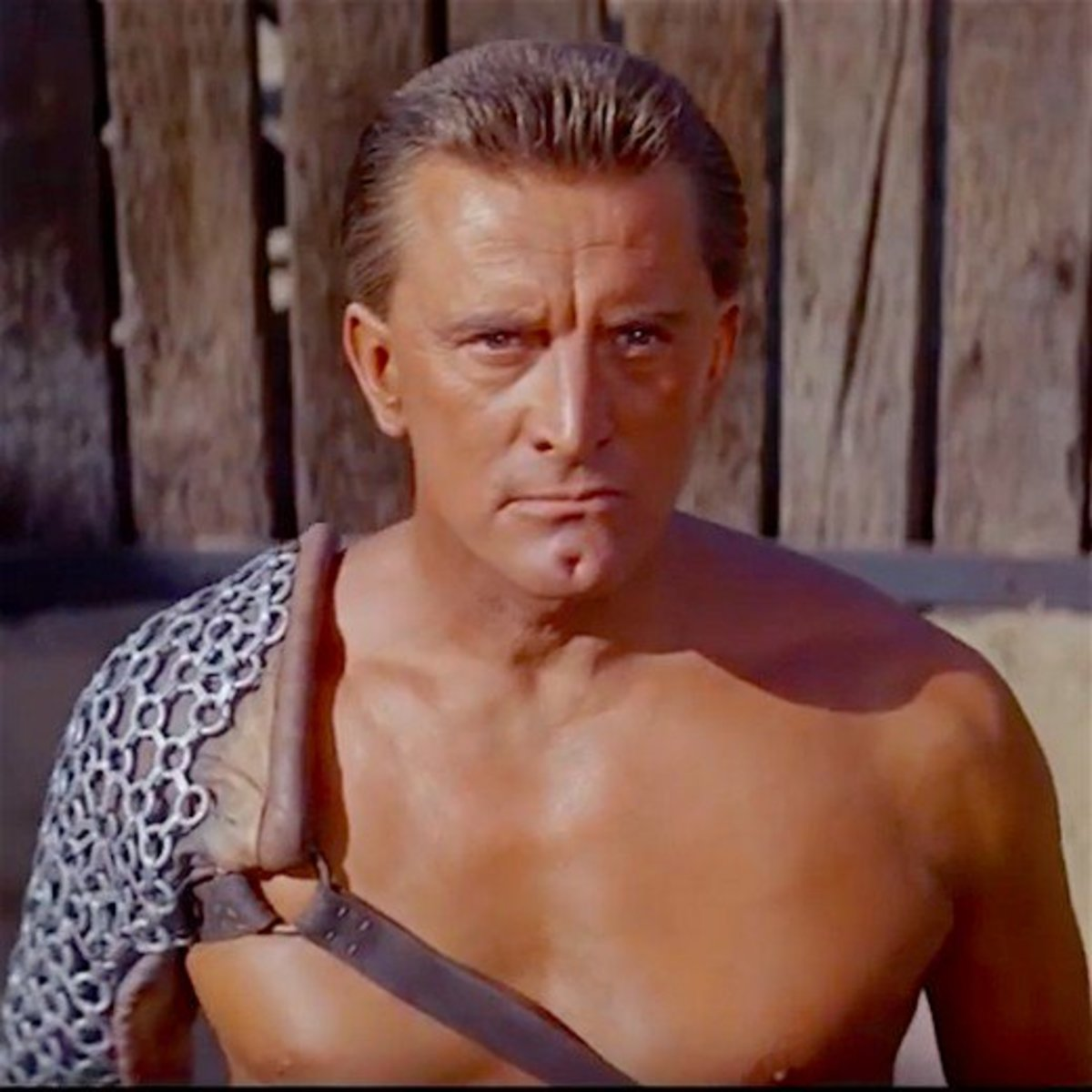 Kirk Douglas starred with Jean Simmons, Laurence Olivier, and Tony Curtis in the highly acclaimed 1960 film classic Spartacus.