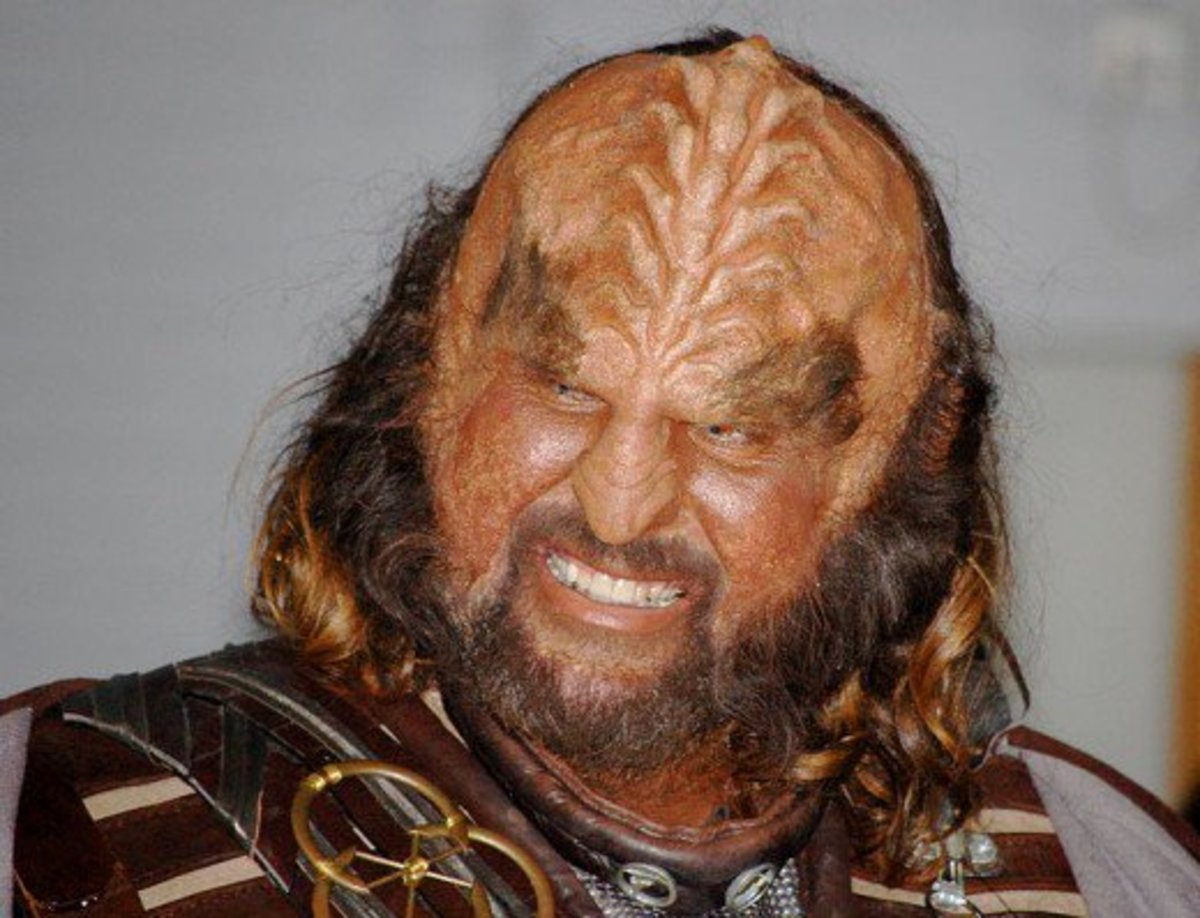 Sean Connery came very close to playing a Klingon in one of the Star Trek movies.
