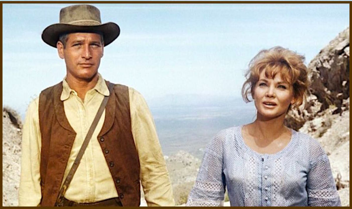 "In 1967, Australian actress Diane Cilento was married to Sean Connery, and appeared with Paul Newman in ""Hombre.""  She married Connery in 1963, but they divorced 11 years later."