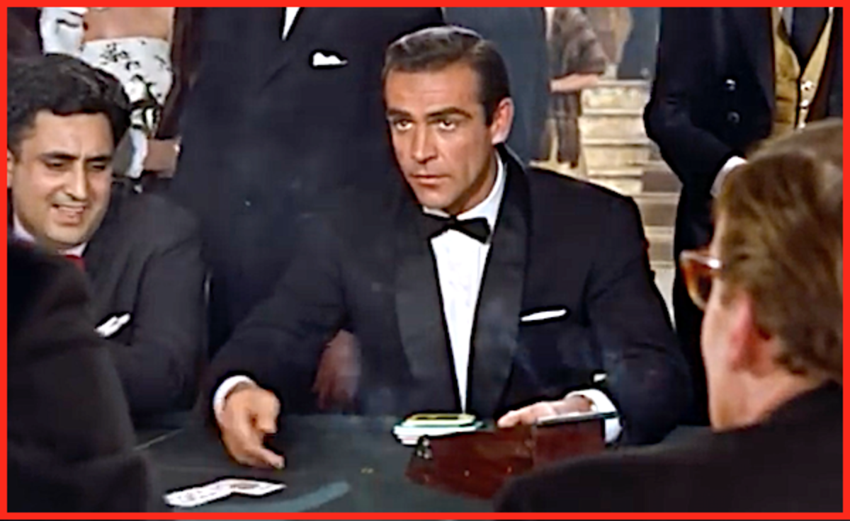 Sean Connery became a cinematic icon for playing James Bond.