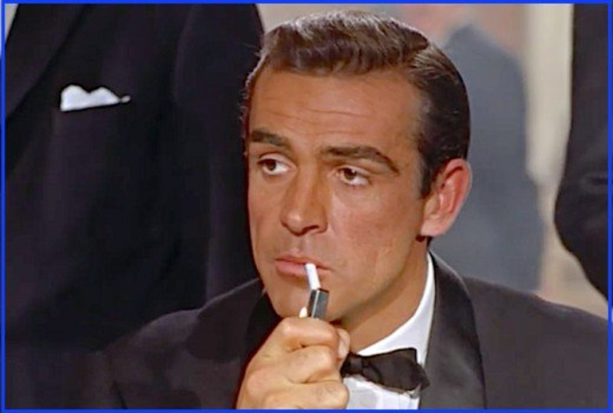 This photo is from the first scene Sean Connery shot for Dr. No.  The film had just started, but we immediately knew this man was Bond... James Bond...
