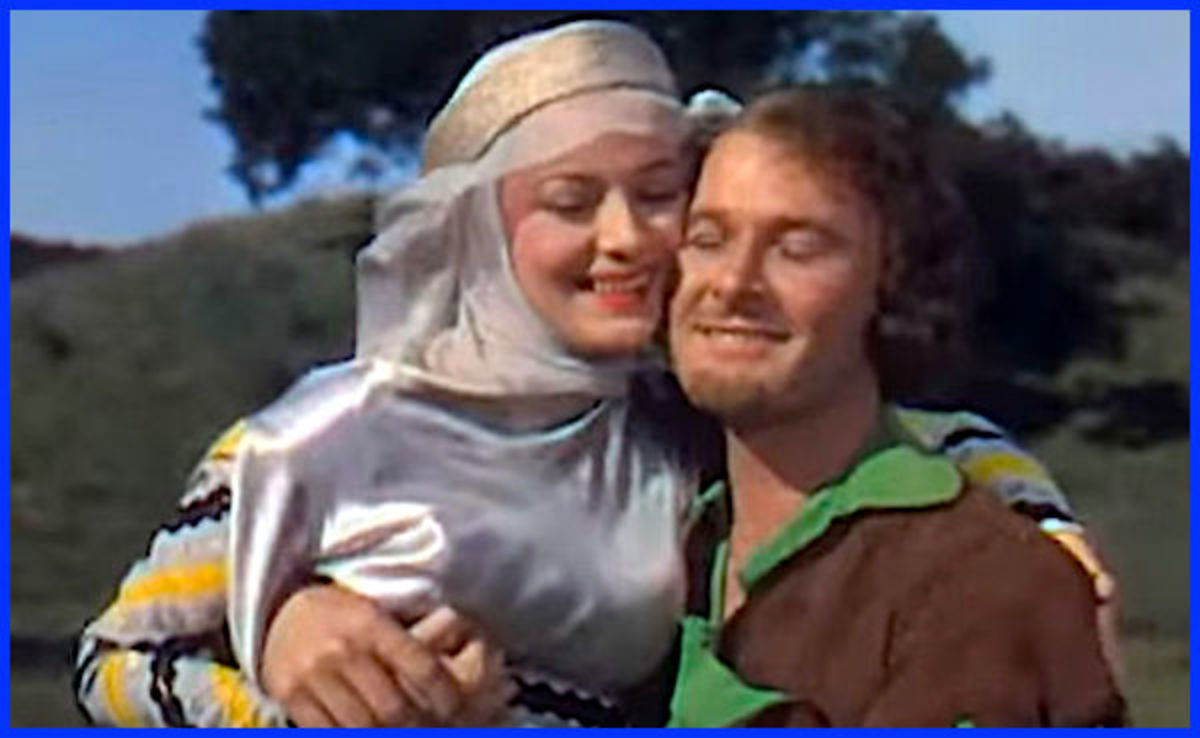Despite the fact they had on-screen chemistry and starred together in many movies, Olivia de Havilland has stated she and Errol Flynn were never lovers in real life.