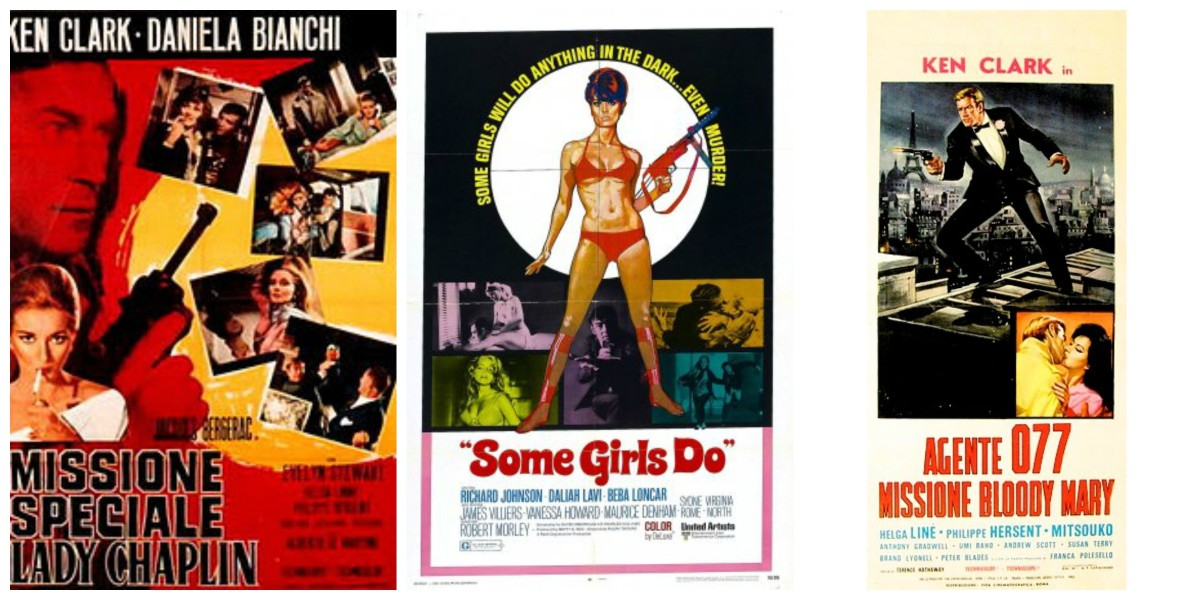 "More posters: ""Special Mission Lady Chaplin"" (1966), ""Some Girls Do"" (1969) and ""Mission Bloody Mary"" (1965)"