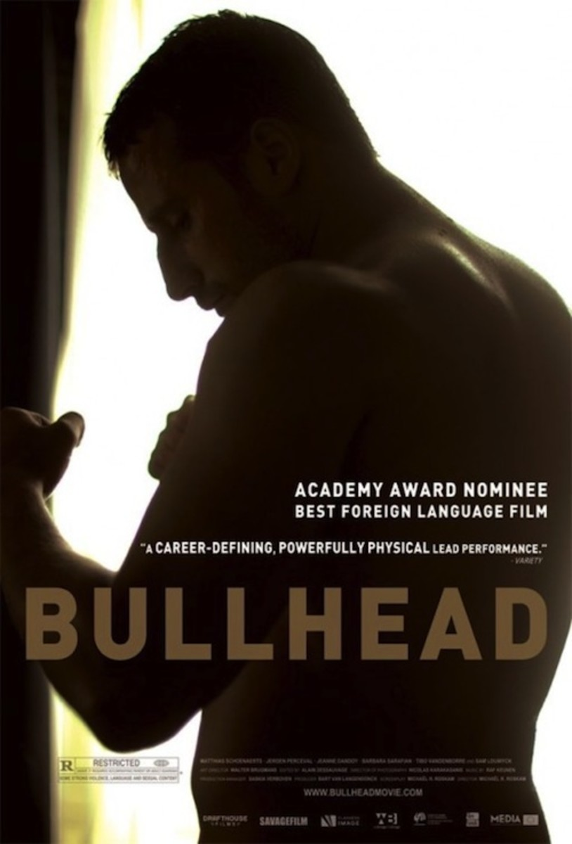 Bullhead would not have been considered for best picture because it's a foreign language film, but Matthias Schoenaerts' character is one of the most pitiable monsters ever put on screen.