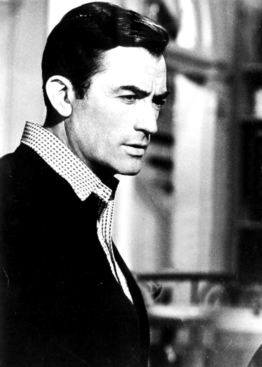 Gregory Peck was cast against type as a moron in Cape Fear.