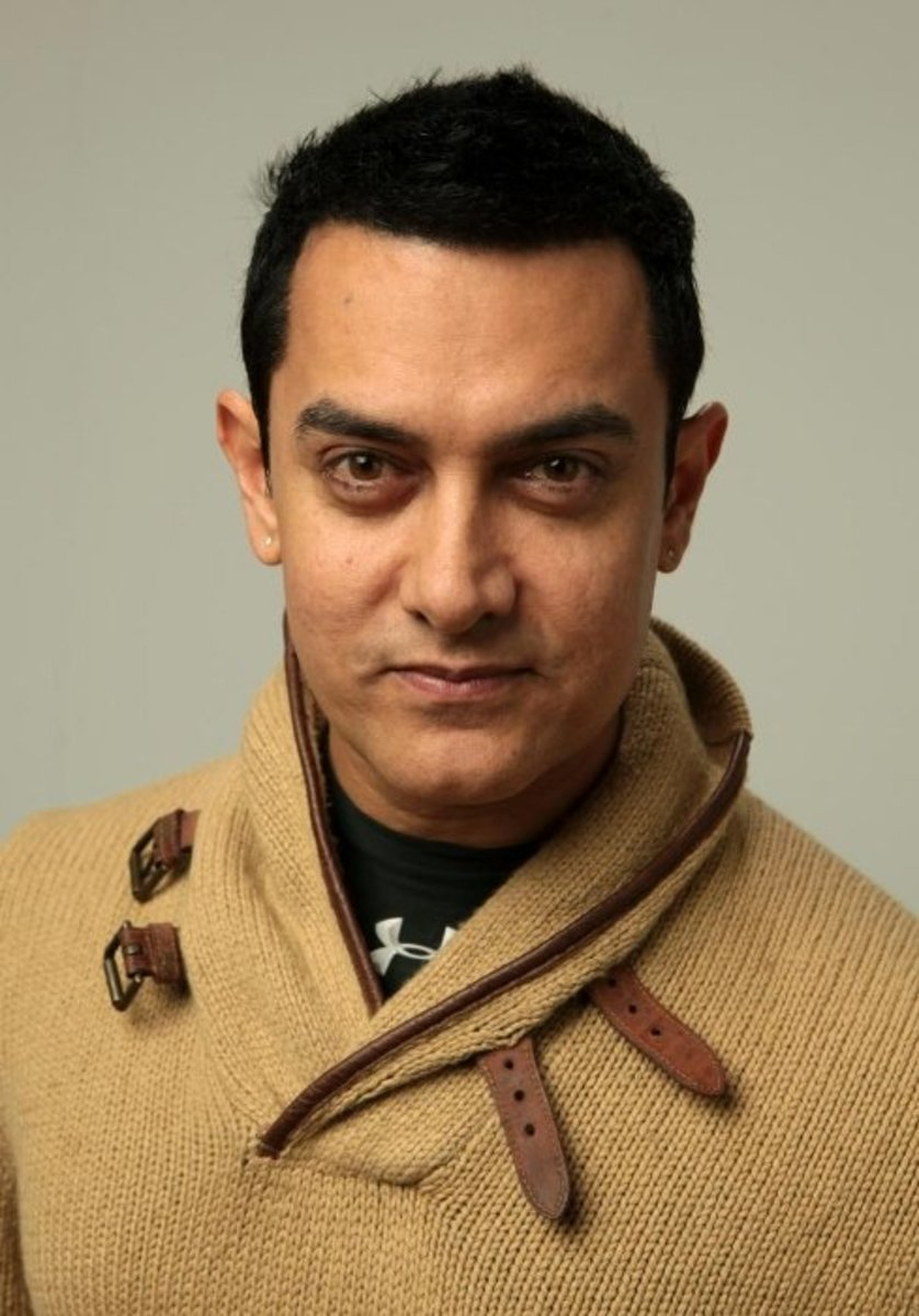 He's not recognizable in the United States, but, considering India's population, Aamir Khan may be the most popular actor on earth.
