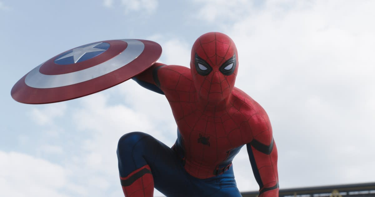 Spider-Man's mechanical eyes literally made me squeal with excitement