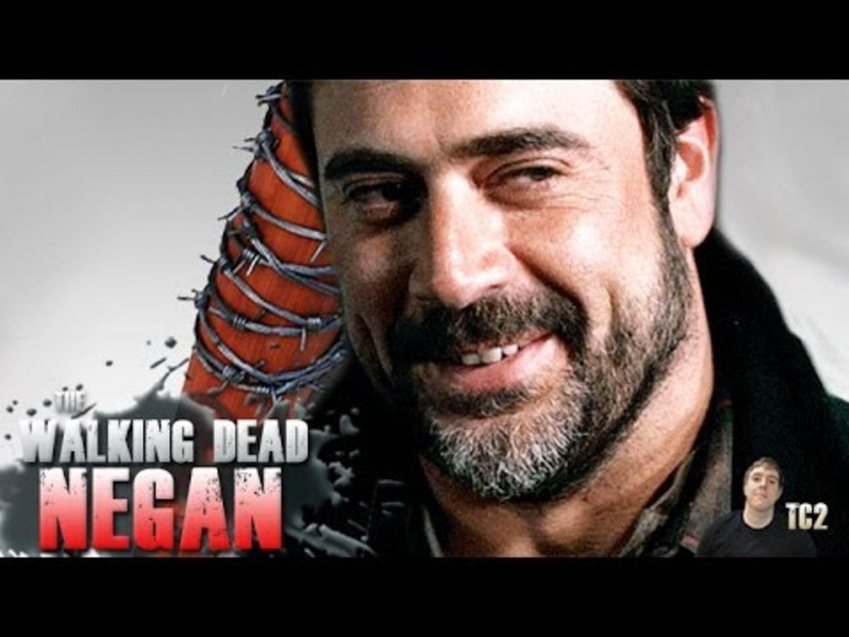 Hunky actor Jeffrey Dean Morgan plays Negan