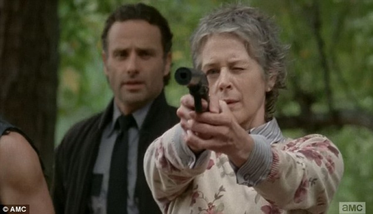 Carol Takes Aim at the Integrity of Her Character While Rick Watches. He's Next.