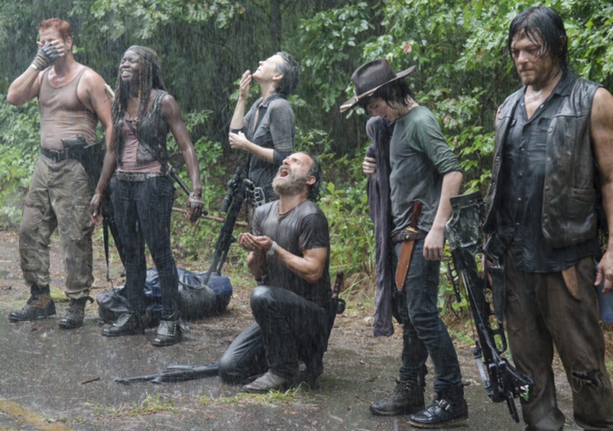 Uncanny, Isn't it? The Walking Dead & Survivor Could be Spliced into a Single Show...
