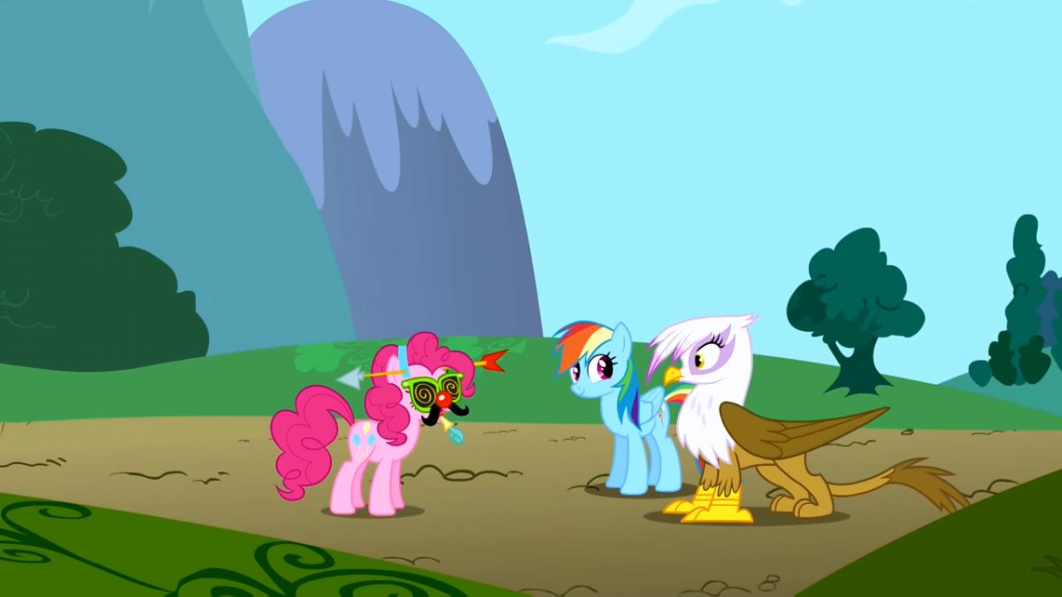 In mythology griffons ate horses. Kind of brilliant considering the ending of this episode.