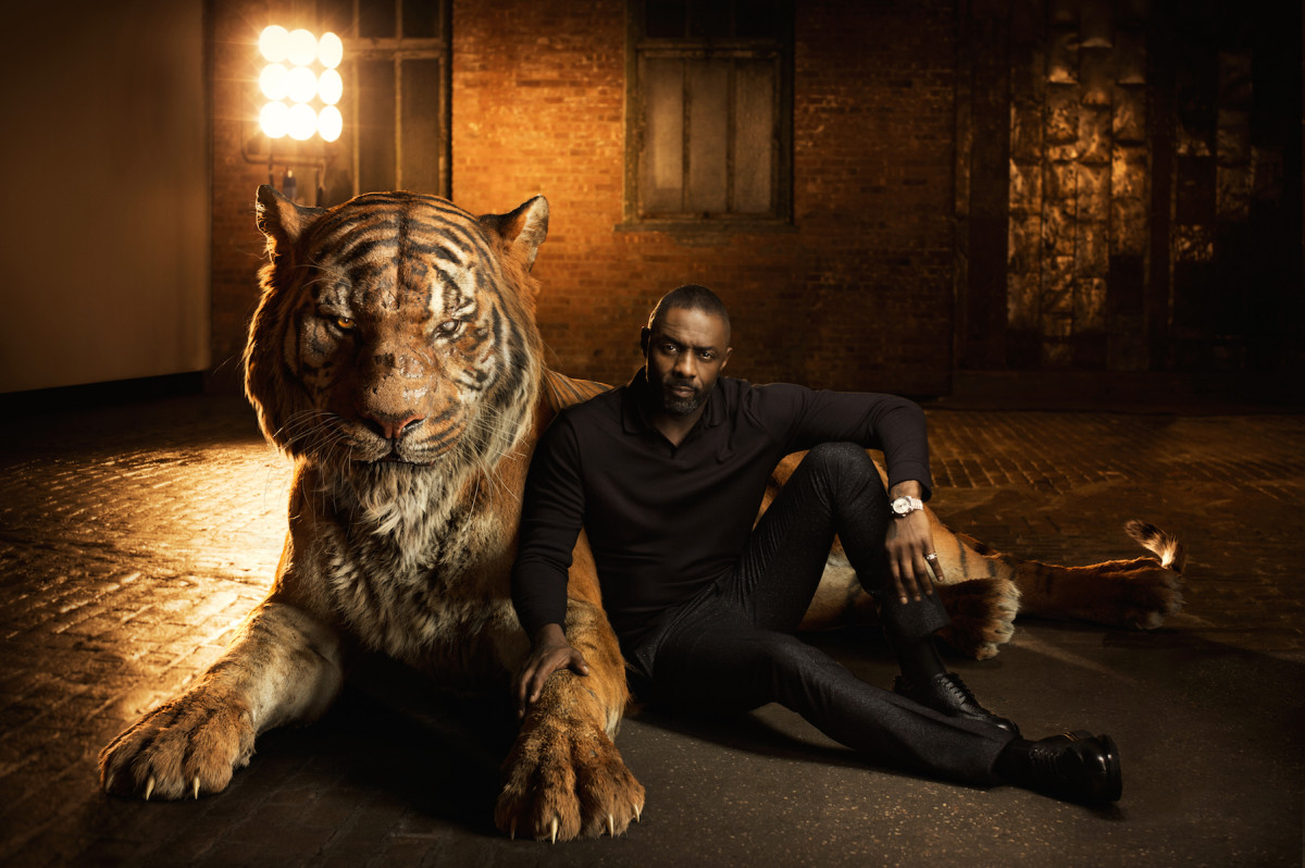 Idris Elba, the voice of Shere Kahn