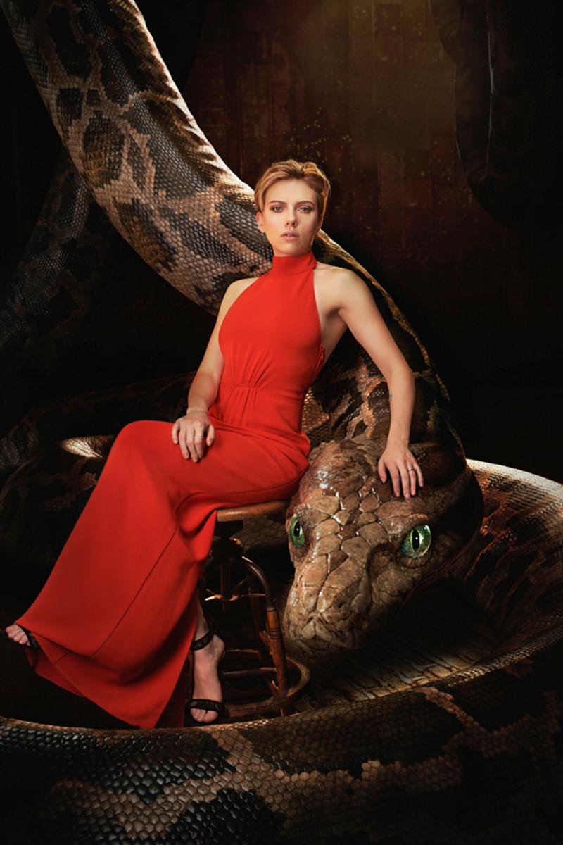 Scarlett Johansson as Kaa