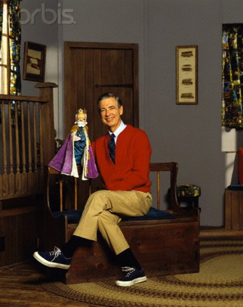 "Rogers in his own element: The set of ""Mister Rogers Neighborhood."""